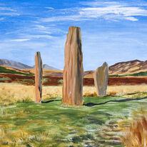 Standing Stones on Machrie Moor, Arran