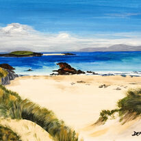 Blue Skies, North End, Iona