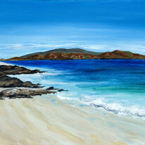 Beach at Martyrs Bay, Iona