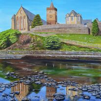 Spring Reflections, Dunblane Cathedral