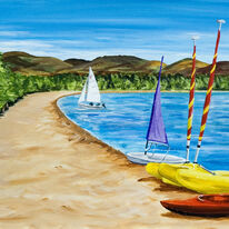 Boats on Loch Morlich