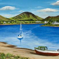 Lochranza Harbour Arran