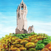 Wallace Monument in Autumn