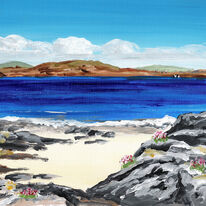 Rocks and Flowers, Iona