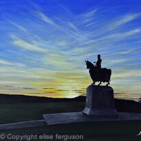 Battle of Bannockburn Sunset