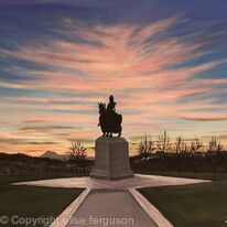 Rose Sunset, Battle of Bannockburn