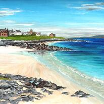 The Beach at Baile Mor, Iona
