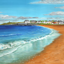 Earlsferry from Elie Beach
