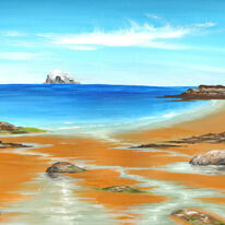 The Bass Rock from North Berwick