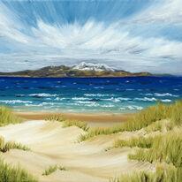 Arran through Sand Dunes, Ayr