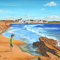 Boy on the Beach, Elie