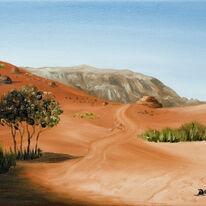 Trees at Wadi Rum, Jordan