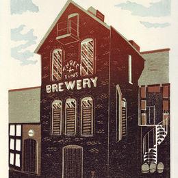 Drusilla Cole 'Three Tuns Brewery Bishops Castle'