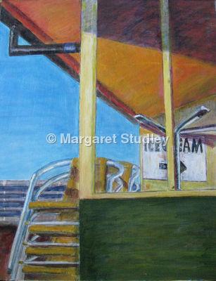 On Cromer Pier