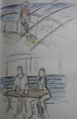 scenes from Cromer pier