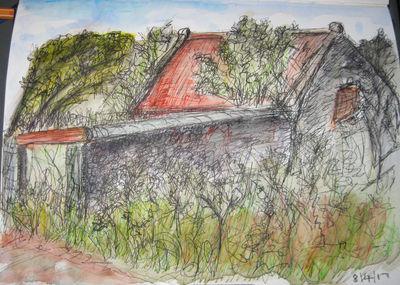 Overgrown Barn