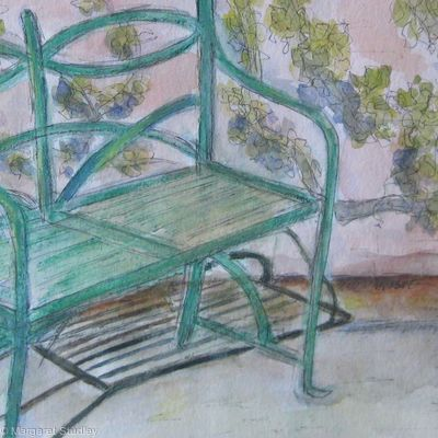 Garden Seat and Espalier