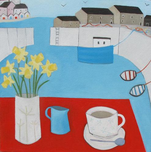 Tea in Lyme Regis