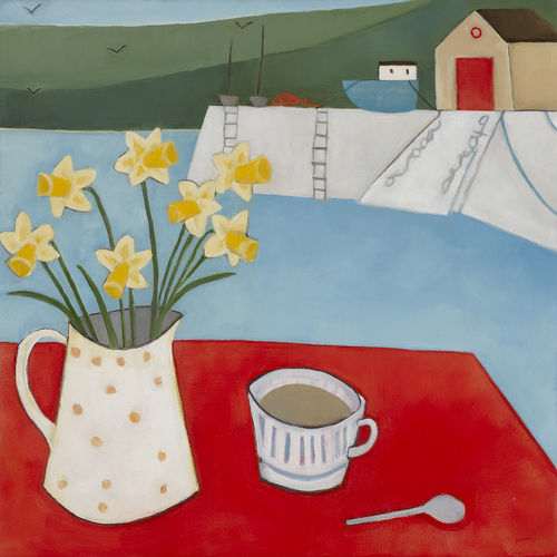 Tea and Daffs