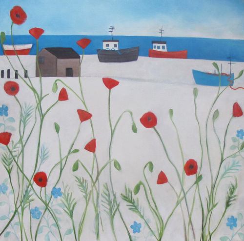 Dungeness Poppies