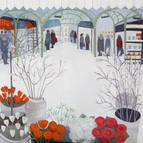 magnolia in the market