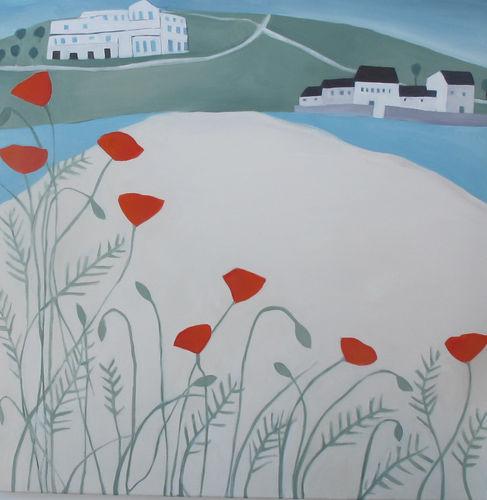 Burgh Island Poppies