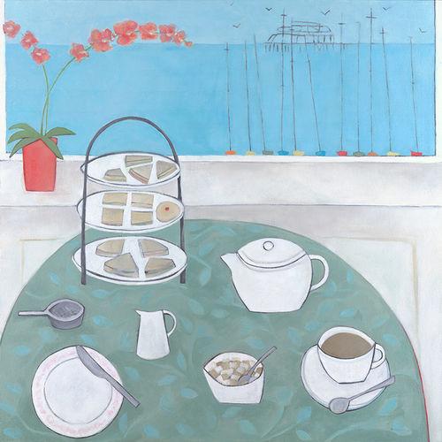 Tea at the Grand