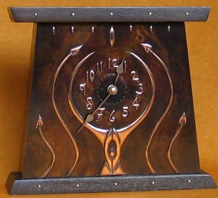 Arts And Crafts Mantel Clocks Crafting