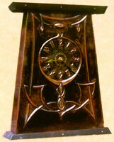 Arts&Crafts; mantel clock (ACC 4 )