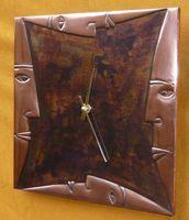 copper wall clock   C3