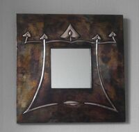 Arts & Crafts Copper Mirror (ACM 3)