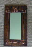 Arts & Crafts copper mirror ( ACM 4 )
