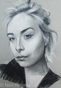 Portrait study of Beatriz