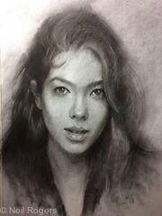 Portrait of Kati