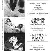 Dean Clough Gallery, Halifax, UK. 1994.