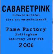 Cabaret Pink, Nottingham 2006