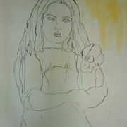 Untitled [Girl With Monkey]