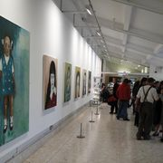 Private View -  Lakeside Arts Centre, Nottingham.10th July 2012