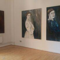Exhibition shot - Women of a Nervous Disposition, lace Market Gallery, Nottingham.