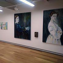 'Women of a Nervous Disposition' exhibition shot, Attenborough Arts Centre, Leicester. 2018