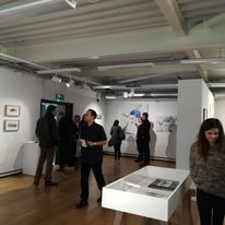 Women of a Nervous Disposition exhibition at Attenborough Arts Centre, Leicester. Solo Show 2nd February - 28th March 2018