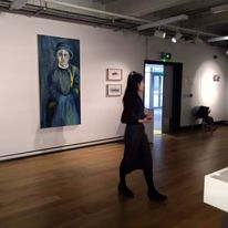 Women of a Nervous Disposition exhibition - solo show. Attenborough Arts Centre, leicester 2nd February - 28th March 2018