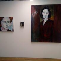 Women of a Nervous Disposition solos exhibition Attenborough Arts Centre, Leicester.