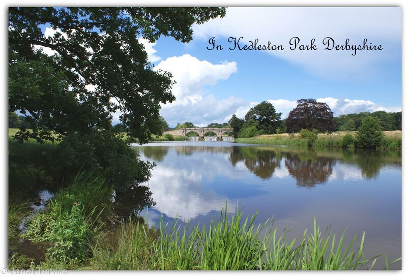 In Kedleston Park, Derbyshire
