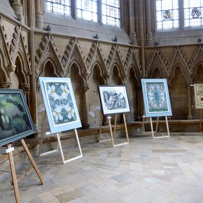The Adam & Eve exhibition at Southwell Minster