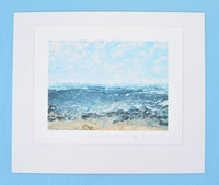 EARLY ON THE BEACH