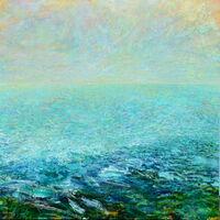 summer light sea