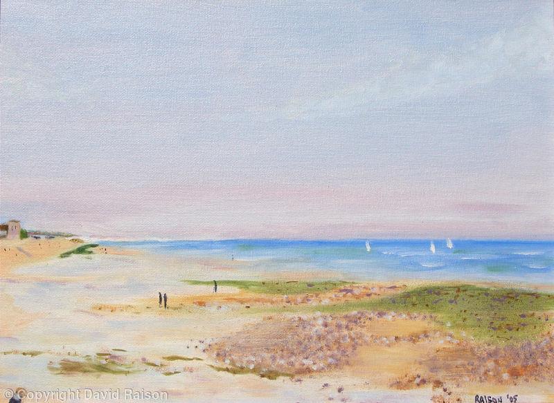 Sandbanks in November