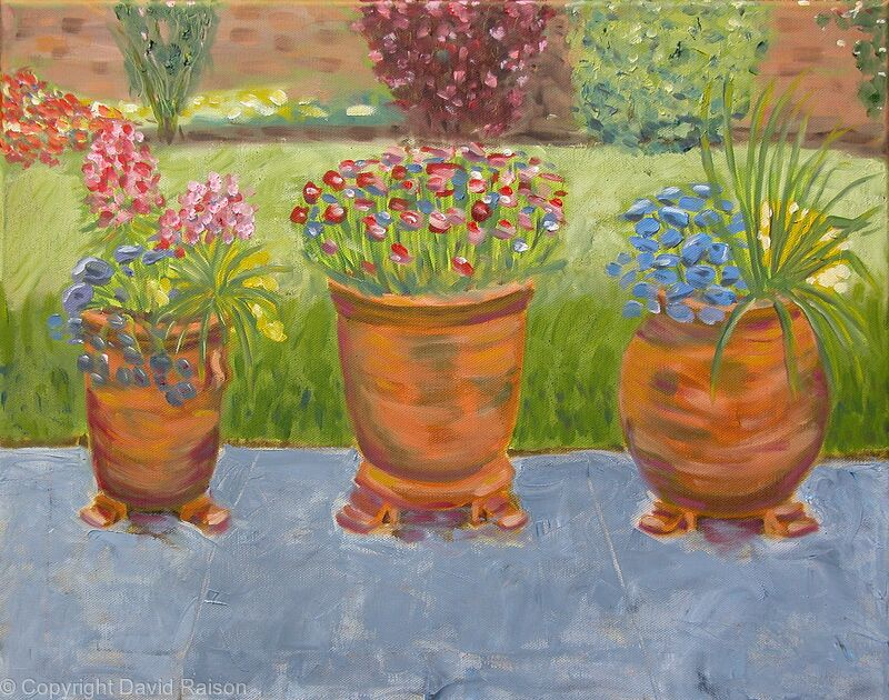 Three Little Flowerpots