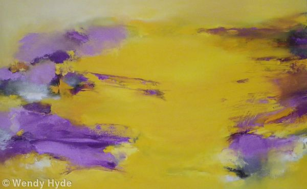 Cadmium Yellow and Violet